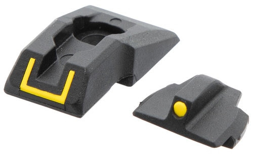 Ruger Security-9 Sight Set, Black/Yellow Front Black/Yellow Rear