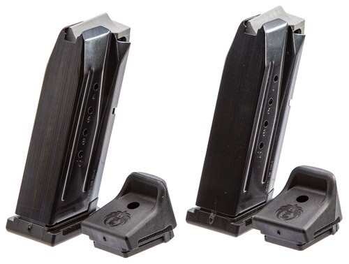 Ruger Security-9 Compact Magazine 9mm, Steel, Black, 2 Pack, 10rd
