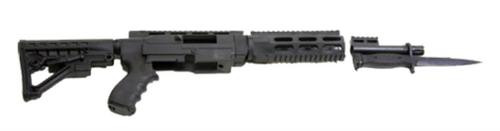 ProMag Archangel ARS 10/22 Rifle Conversion Stock, 6 Position, 3 Slot, Black