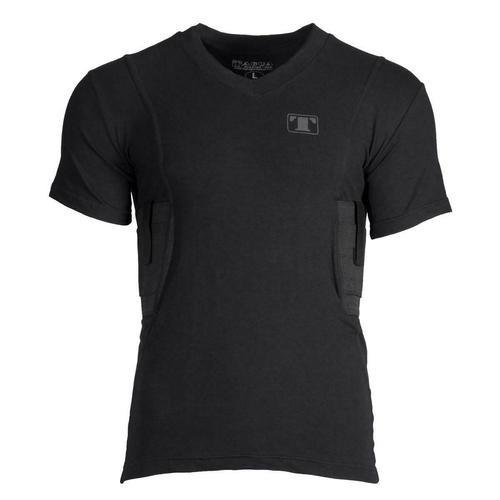 Tagua Spandex Men's Holster Shirt, Small, Black