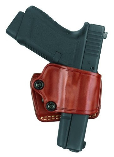 Gould and Goodrich Yaqui Slide Holster, Fits Springfield XD Models, Chestnut Brown