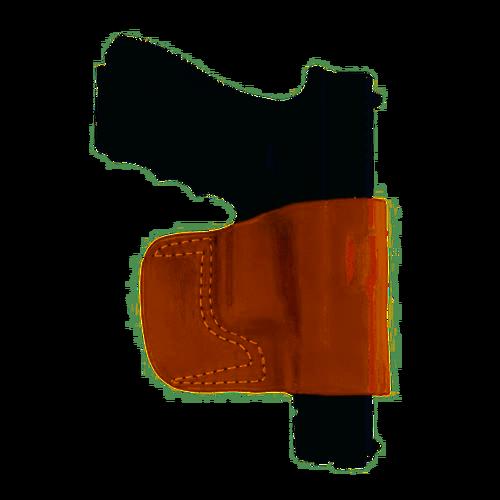 Gould and Goodrich Belt Slide Holster, Fits PX4/XD4/P250, Chestnut Brown
