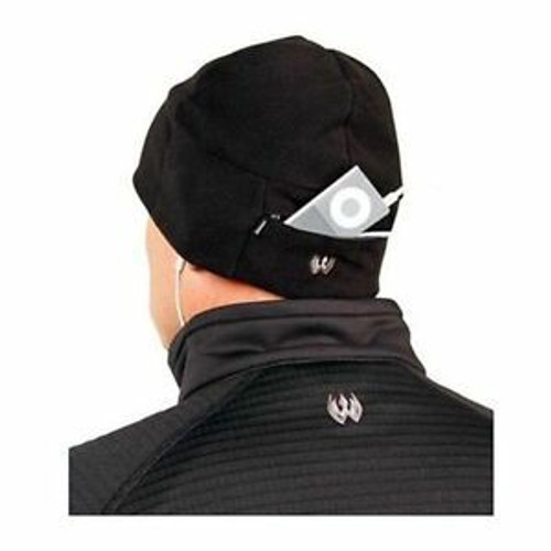 Blackhawk Fleece Watch Cap With Zippered Media Pocket
