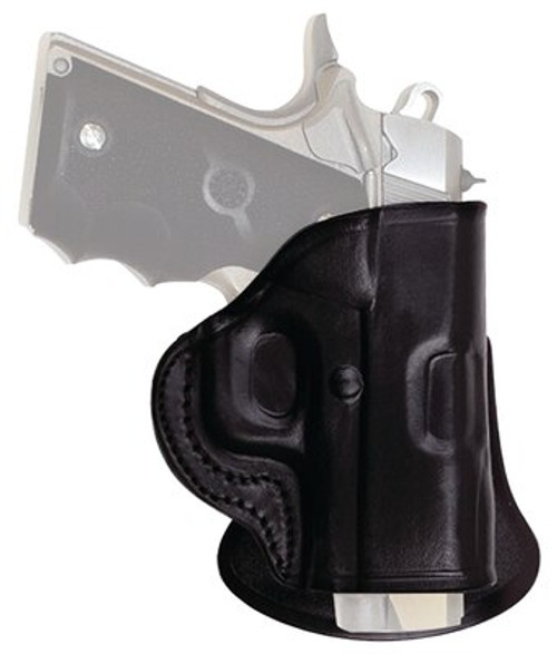 "Tagua Paddle Holster, Fits Ruger MKIII /w 5.5"" Barrel, Right Hand, Black"