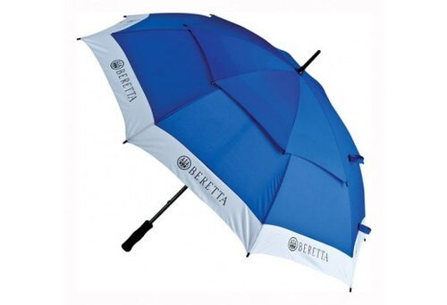 """Beretta Competition Umbrella, 58"""" Diameter, Blue, Case"""
