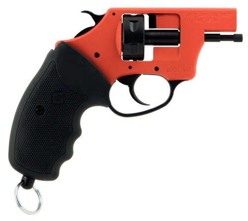 Charter Arms Pro 22, 22 Blank, 6rd, Black/Orange