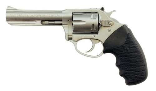 "Charter Arms Pathfinder, .22 LR, 4"" Barrel, 6rd, Matte Stainless Steel"