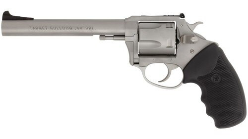 "Charter Arms Bulldog, .44 Special, 6"" Barrel, 5rd, Fixed Sights, Matte Stainless Steel"