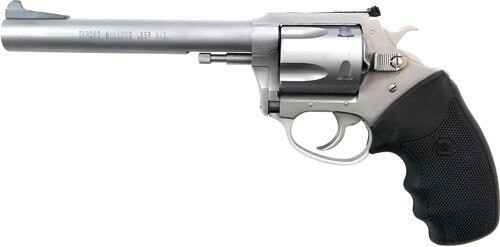 "Charter Arms Target, .357 Mag, 6"" Barrel, 5rd, Stainless"
