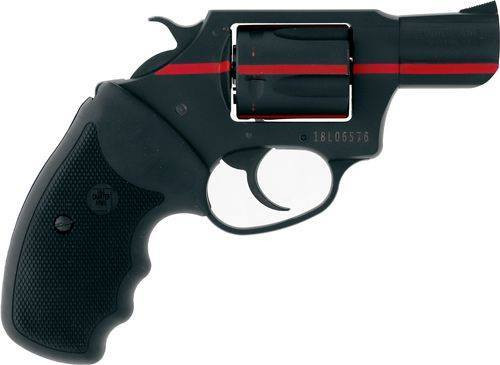 """Charter Arms First Responder 911 Red, .38 Special, 2"""" Barrel, 5rd, Black/Red Stripe"""
