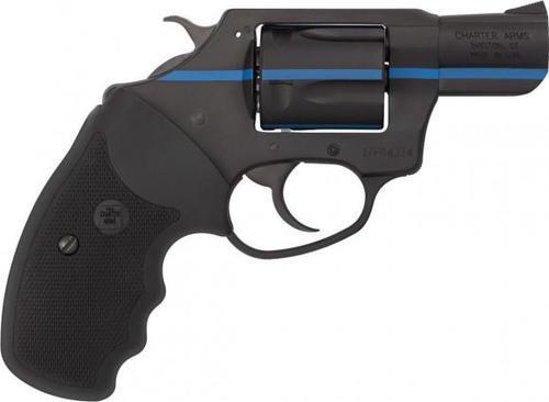 "Charter Arms First Responder 911 Blue, .38 Special, 2"" Barrel, 5rd, Black/Blue Stripe"