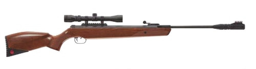 "Umarex Ruger Yukon Magnum, .22 Pellet, 16.25"" Barrel, 3-9x32mm Scope, Wood Stock"