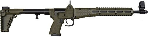 "Kel-tec Sub-2000 MP 9mm, 16"" Barrel, OD Green Stock, 17rd M&P9 Mag"
