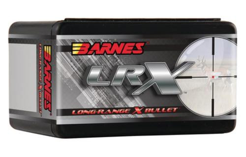Barnes Ammunition LRX Long-Range X Bullet 7mm .284 Diameter 168gr, LRX Boattail, 50rd/Box
