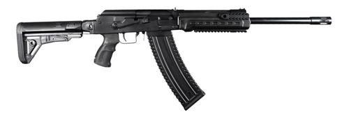 """Kalashnikov KS-12T 12 Ga, 18.25"""" Barrel, 3"""", Side-Folding Stock, Black, 10rd"""