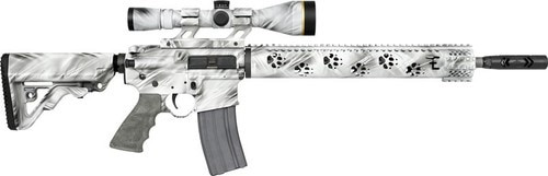 "Rock River Arms Predator AR-15 Fred Eichler Series 223/5.56 16"" Barrel, Scope Mount. Ghost Camo, 30rd Mag"