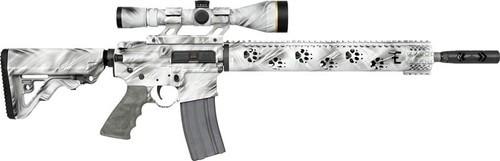 "Rock River Arms Predator AR-15 Fred Eichler Series 223/5.56 16"" Barrel, Scope Mount. Ghost Camo, 30rd Mag"