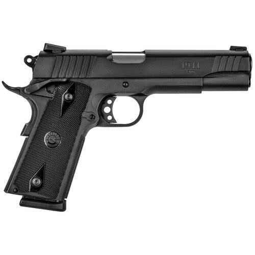 "Taurus 1911 9mm Govt 5"" Barrel,  Black Checkered Grip Black Steel Slide,  9 rd"