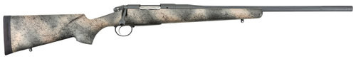 "Bergara Premier Highlander 300 PRC 24"" Threaded Barrel Fiberglass Camo Stock"