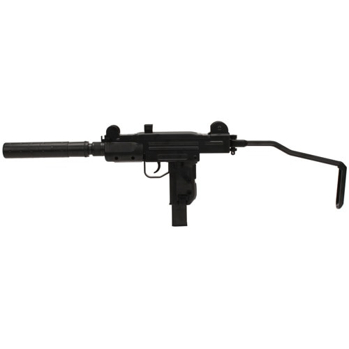 "Umarex UZI Mock Silencer, .177 BB, 5"" Barrel, 28rd, Black"