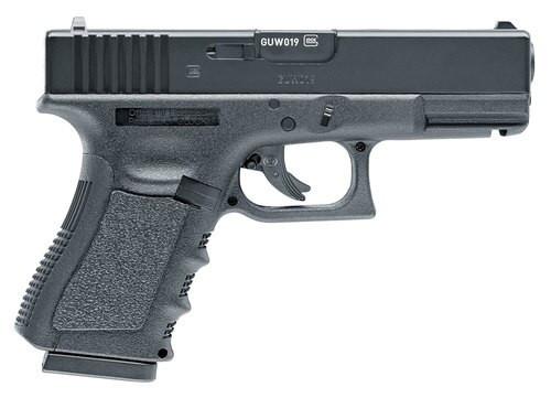 "Umarex RWS Glock G19 Gen3, .177 BB, 4.25"" Barrel, 16rd, Black"
