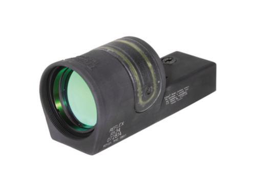 Trijicon Reflex Sight 1x42mm 4.5 MOA Amber Dot Reticle Without Mount Matte Black