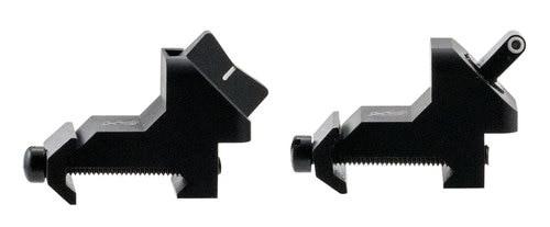 XS SIGHTS XTI DXW Standard Dot AR-15/M16 Green Tritium, White Outline Front Black, White Stripe Rear