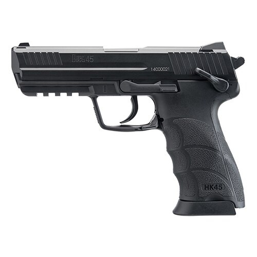 "Umarex HK Hk45, .177 BB, 4.87"" Barrel, 20rd, Black"