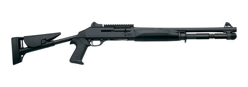 "Benelli M1014 Limited Edition, Semi-Auto 12 Ga, 18.5"", Ghost Ring Sights, Pistol Grip Stock, CA Model"