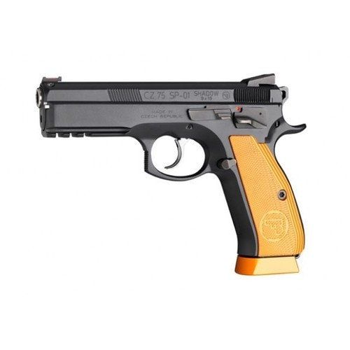 "CZ Custom SP-01 Shadow Orange, 9mm, 4.6"" Barrel, 17rd, Orange Grips/Black"