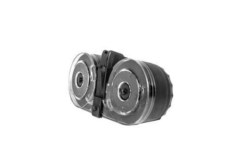 KCI USA AK74 5.45x39mm Drum Magazine, Steel, Black, 95rd
