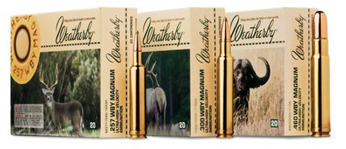 Weatherby 340 Weatherby Magnum 250gr, Spire Point, 20rd Box