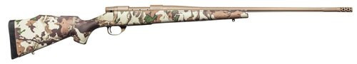 """Weatherby Vanguard First Lite, Bolt Action, 6.5 Creedmoor, 26"""" Barrel, Flat Dark Earth, First Lite Fusion Camo Synthetic Stock, 4Rd"""