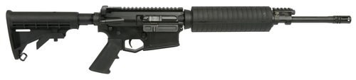 """Adams Arms PZ 5.56 x 45 mm, 16""""Barrel 6-Position Collapsible Stock, QPQ Melonite/Black Nitride"""