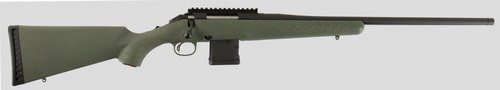 """Ruger 26971 American Predator 204 Ruger, 22"""" Barrel, Moss Green Fixed Synthetic Stock Black Steel Receiver, 10rd"""