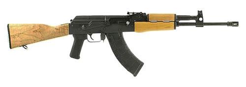 "Century Arms RH10 AK-47 7.62x39, 16.5"" Barrel, Black Metal Finish, Wood Stock, 30rd Mag"