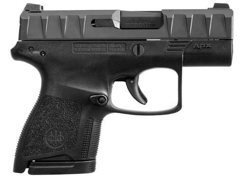"""Beretta APX 9mm, 3.07"""" Barrel, 6rd/8rd, Black"""