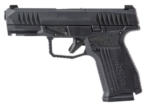 "Arex Rex Delta 9mm, 4"" Barrel, Interchangeable Backstrap, Black, Nitride Stainless Slide, 15rd/17rd"