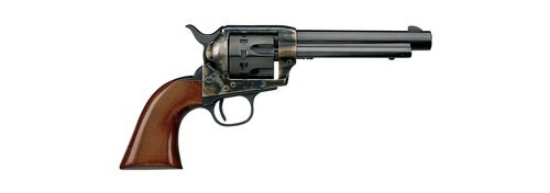"Uberti 1873 Cattleman Steel, .22 LR, 4.75"" Barrel, 12rd, Case-Hardened"