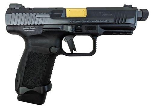 "Canik TP-9 Elite Combat Executive, 9mm, 4.75"" Barrel, 15rd, Salient Arms Upgrades, Black"