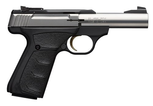 "Browning Buck Mark Micro 22LR, 4"" Bull Barrel, Stainless"