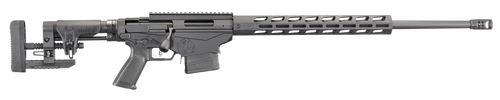 "Ruger Precision 6.5 PRC, 26"" Barrel, Precision Adjustable Black Stock, Black Hardcoat Anodized"