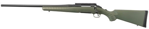 Ruger American Predator 243, Left Hand, Moss/Black, 4rd
