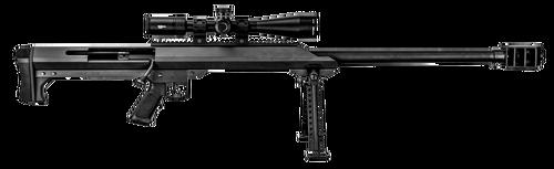 "Barrett M99 with Vortex Scope, 50 BMG, 32"" Barrel, Fixed Black Stock, Black Hardcoat Anodized, 1rd"