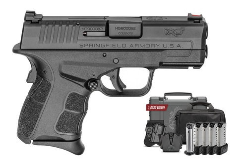 "Springfield XDS Mod.2 Instant Gear Up Package 9mm, 3.3"" Barrel, Single Stack, Fiber Optic"
