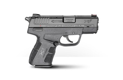 """Springfield XDE Instant Gear Up Package, 9mm, 3.3"""", Single Stack, Fiber Optic"""