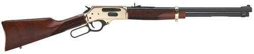 "Henry Side Gate 30-30 Winchester 20"" Barrel, American Walnut Stock Brass Receiver/Blued Barrel, 5rd"
