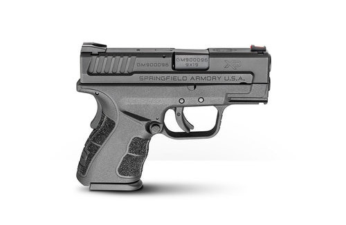 """Springfield XD Mod.2 Sub-Compact, Instant Gear Up Package, 9mm, 3"""", 13rd, Black"""