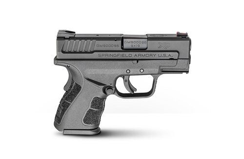 """Springfield XD Mod.2 Sub-Compact, Instant Gear Up Package, 9mm, 3"""", 10rd, Low CAP, Black"""