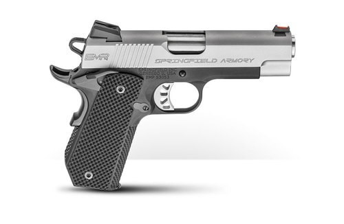 "Springfield 1911 EMP Concealed Carry Contour, Instant Gear Up Package, 9mm, 4"" Barrel, 9rd, Black/Stainless"